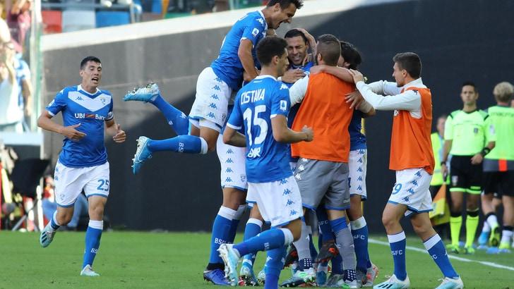 Udinese Brescia 0-1: decide Romulo