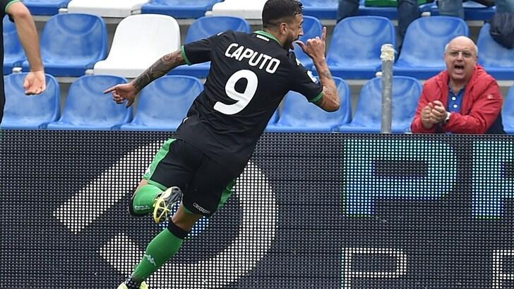Il Sassuolo strapazza la Spal: 3-0 con doppietta di Caputo e gol di Duncan