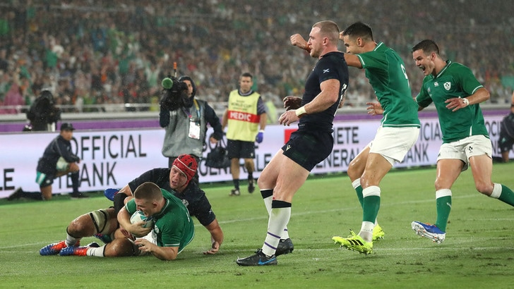 L'Irlanda travolge la Scozia. Inghilterra-Tonga 35-3!