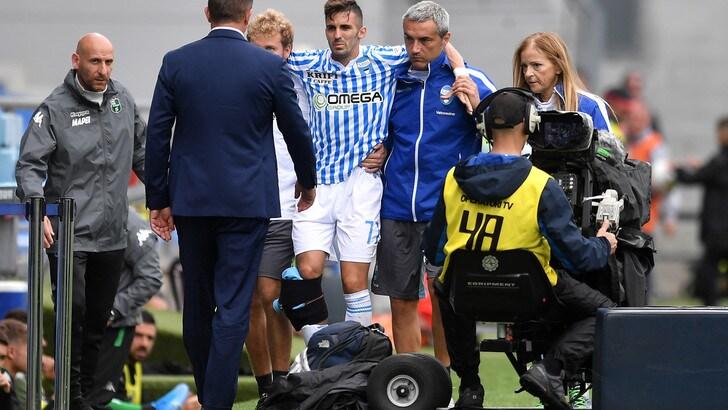 Spal, operazione in vista per D'Alessandro: lesione al crociato
