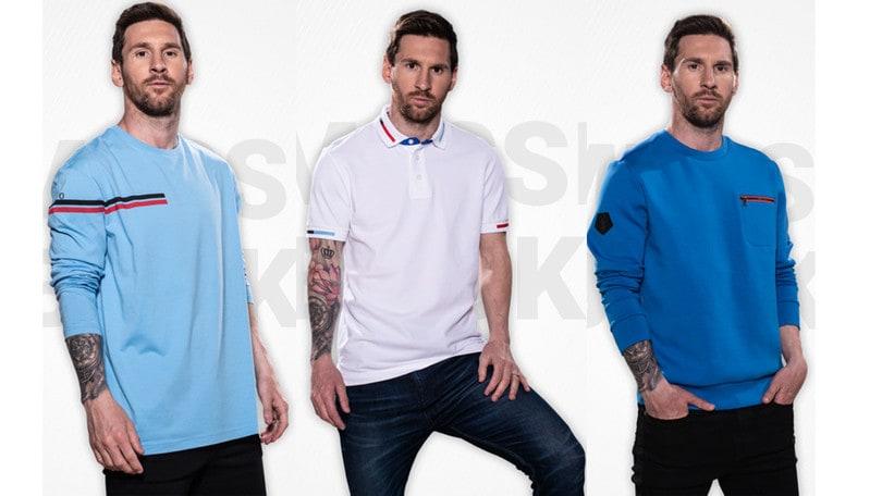 Leo Messi Miglior Giocatore al Mondo fa gol anche nella moda