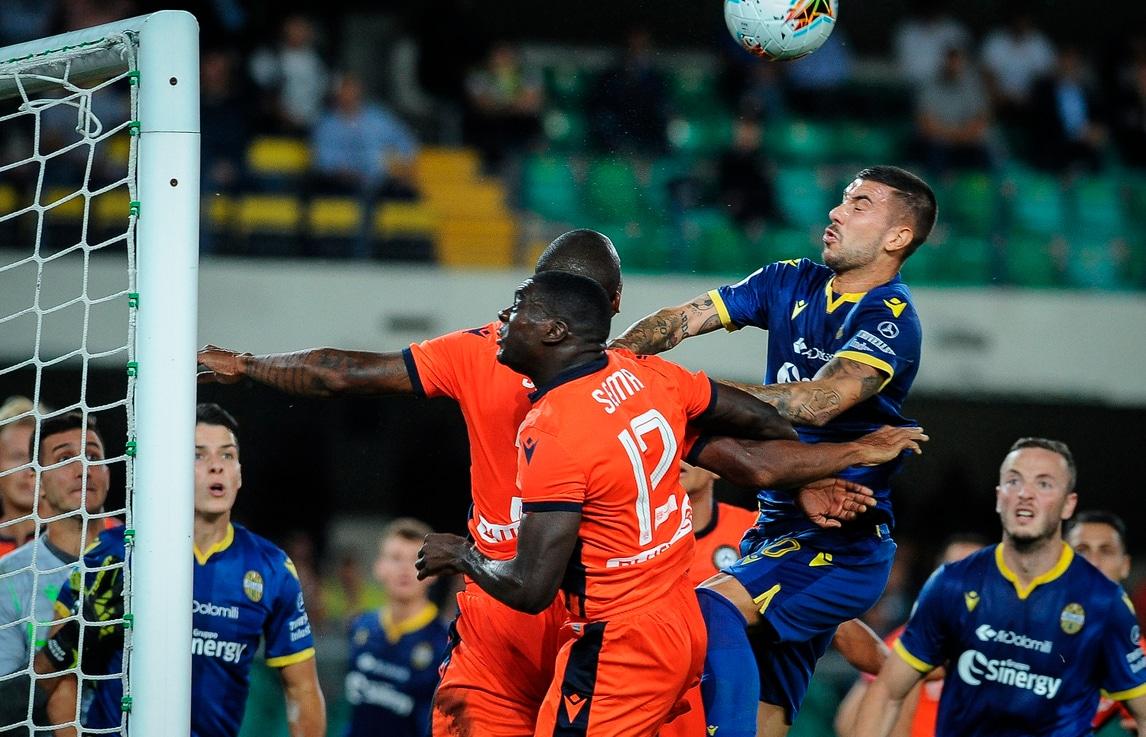 Il Verona spaventa l'Udinese, ma al Bentegodi è 0-0