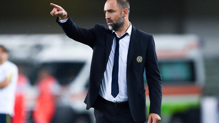 Udinese, Tudor soddisfatto: