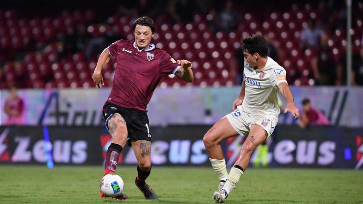 Salernitana-Chievo, apre Djordjevic, pari di Kiyine: 1-1