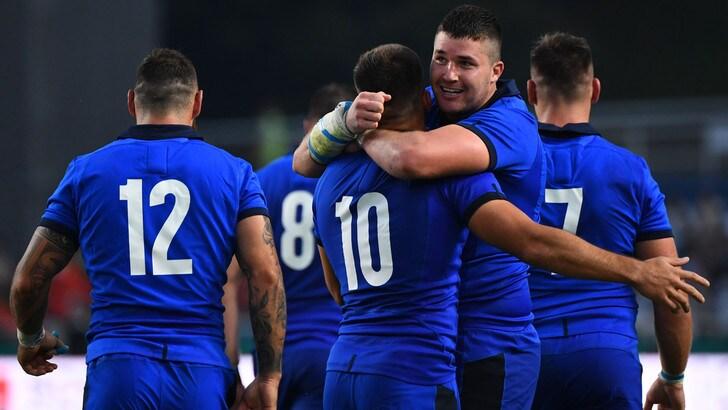 Mondiali rugby, l'Italia travolge il Canada 48-7