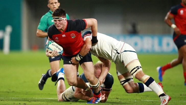 Mondiali di rugby, l'Inghilterra supera 45-7 gli Usa