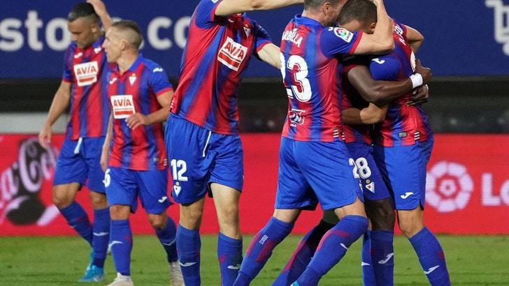 Liga: blackout Siviglia a Eibar, Real Sociedad vince ed è seconda