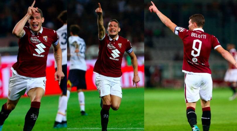 Super Belotti, doppietta contro il Milan: il Torino vince 2-1