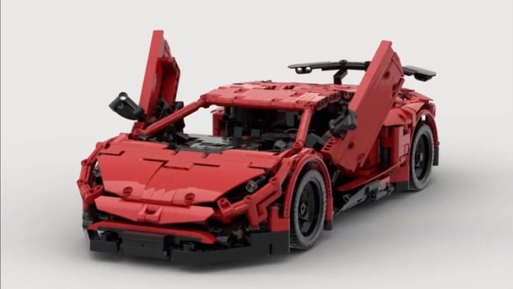 Lamborghini Aventador SV e Lego: ecco il modello telecomandato
