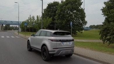 Range Rover Evoque, il test: VIDEO