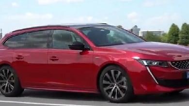 La nostra prova di Peugeot 508 SW GT: il video