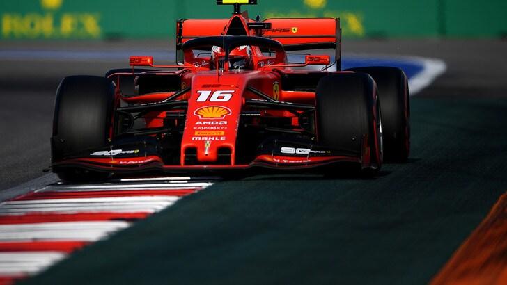 Gp Russia, Leclerc scatta dalla pole: griglia di partenza e diretta TV