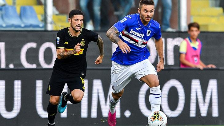 Sampdoria-Inter 1-3, il tabellino