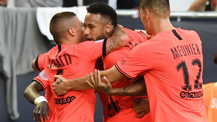 Ligue 1: PSG nel segno di Neymar, Bordeaux battuto 1-0
