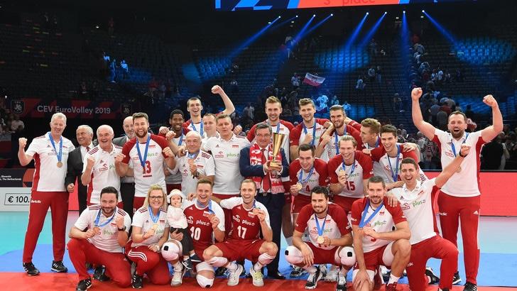 Europei Maschili: la Polonia è terza, nessuna medaglia per la Francia