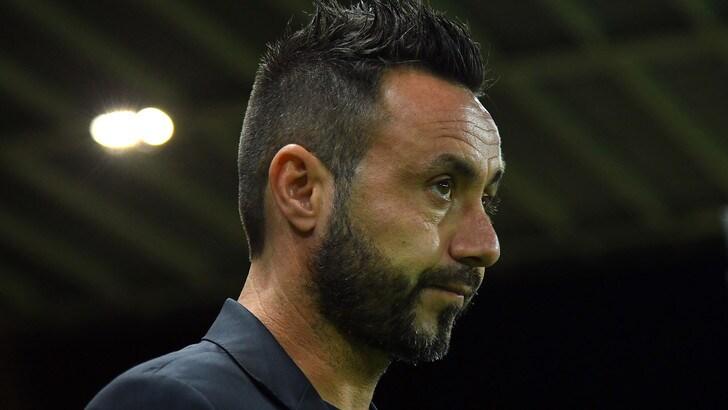 Sassuolo, duro confronto tra squadra e De Zerbi: