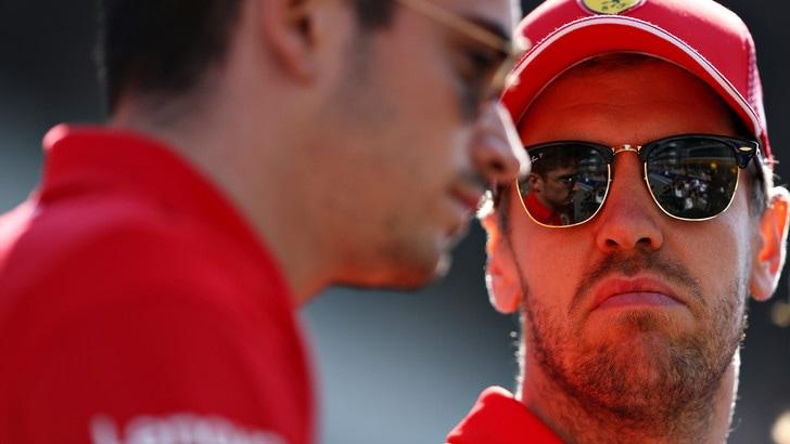 Vettel punge la Ferrari:
