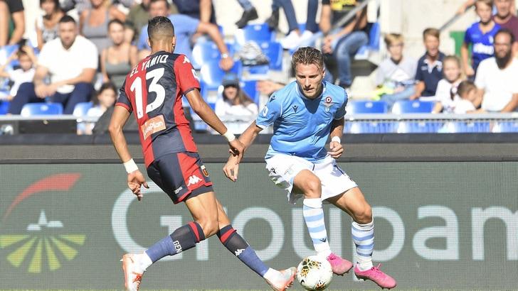 Lazio-Genoa 4-0, il tabellino