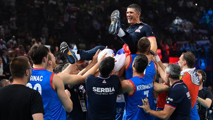 Europei Maschili: Serbia sale sul gradino più alto