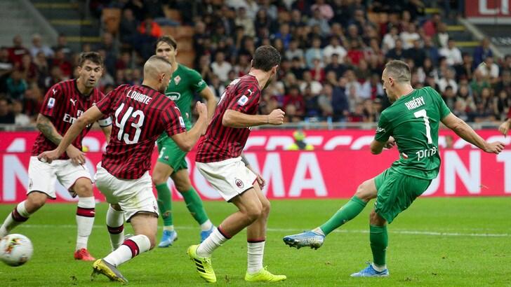 Milan-Fiorentina 1-3, il tabellino