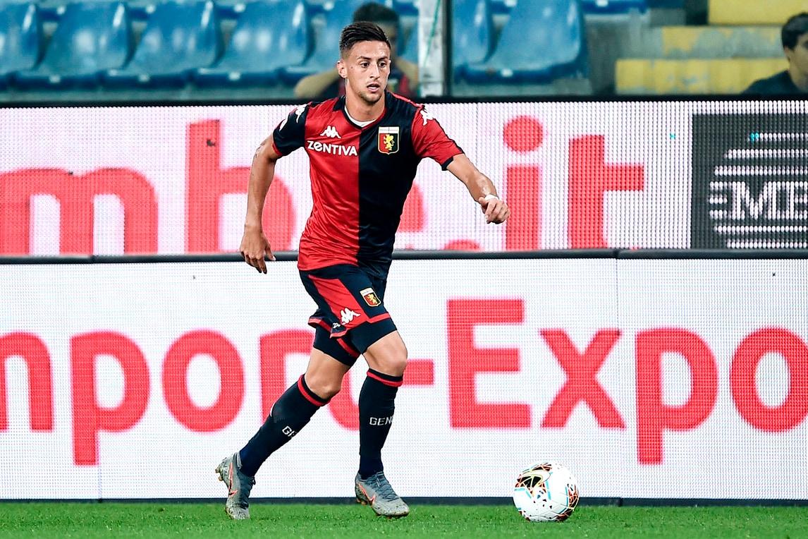 Genoa, Barreca riprende il lavoro col pallone