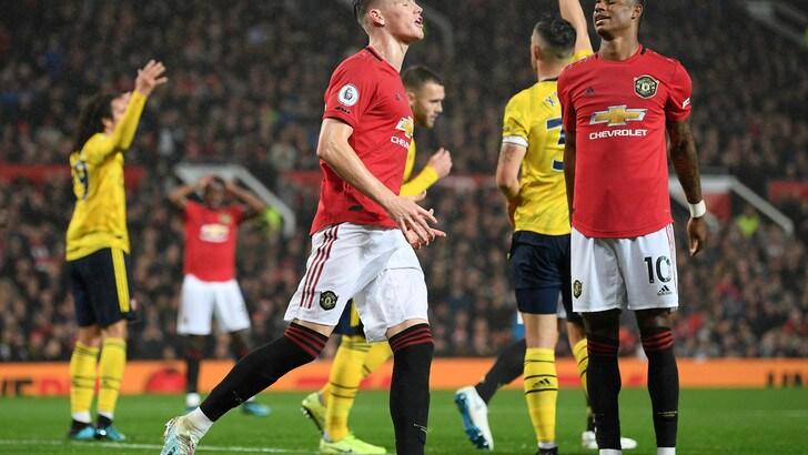 Premier League, McTominay non basta al Manchester United: 1-1 contro l'Arsenal