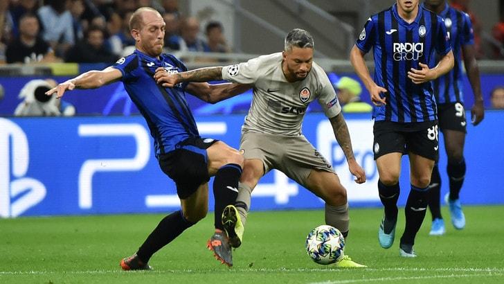 Atalanta-Shakhtar Donetsk 1-2, il tabellino