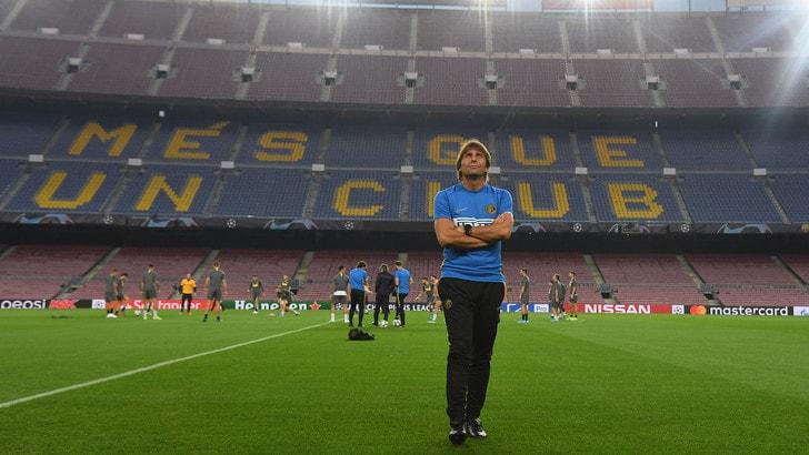 Diretta Barcellona-Inter ore 21: dove vederla in tv e formazioni ufficiali