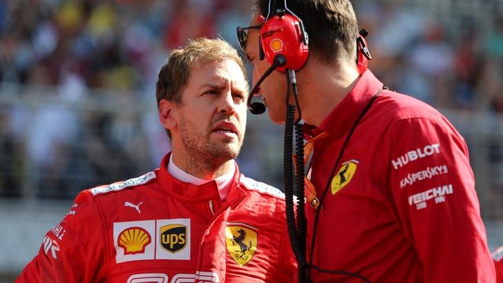 Ferrari: Vettel incontra Binotto a Maranello
