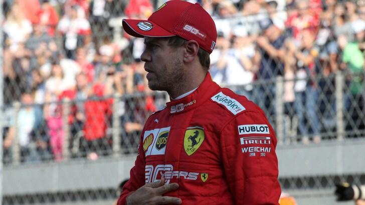 Vettel: un pomeriggio sui go kart a Lonato