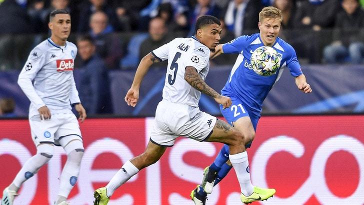 Genk-Napoli 0-0, il tabellino