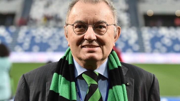 Squinzi, il Sassuolo chiede il rinvio con il Brescia: minuto di silenzio sui campi di A