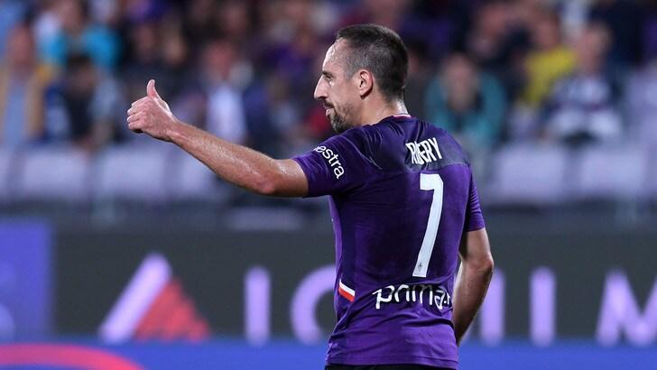 Un gol anche al Franchi: Ribery prende la mira