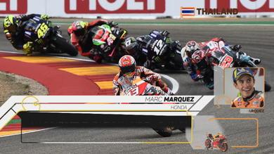 MotoGp Thailandia, Marquez vede il sesto titolo