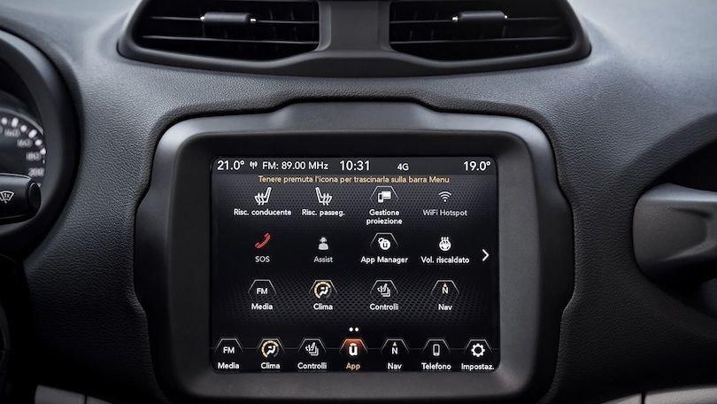 Jeep Renegade 2020 e Uconnect Box: sempre più connessa
