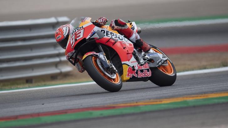 Gp Thailandia: Marquez c'è, sesto posto nelle libere. Rossi quinto