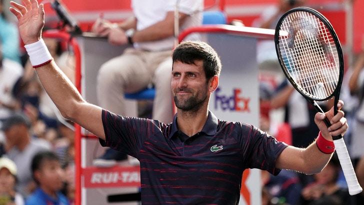 Tokyo, Djokovic in finale: giocherà contro Millman
