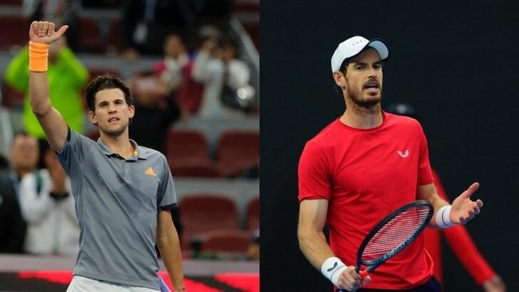 Thiem batte Murray e vola in semifinale agli Atp di Pechino