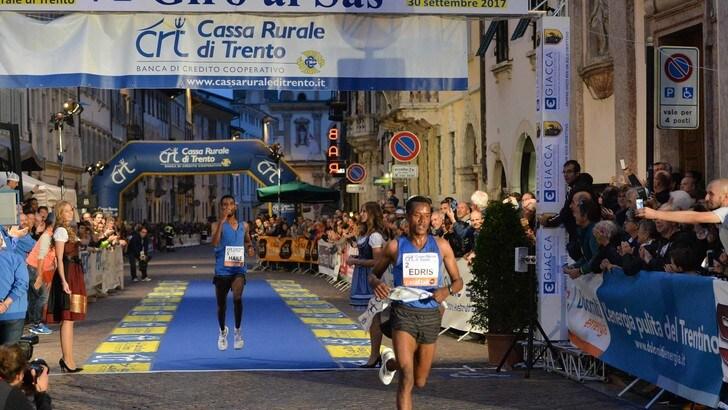 Muktar Edris, oro mondiale dei 5000m, al Trento Running Festival