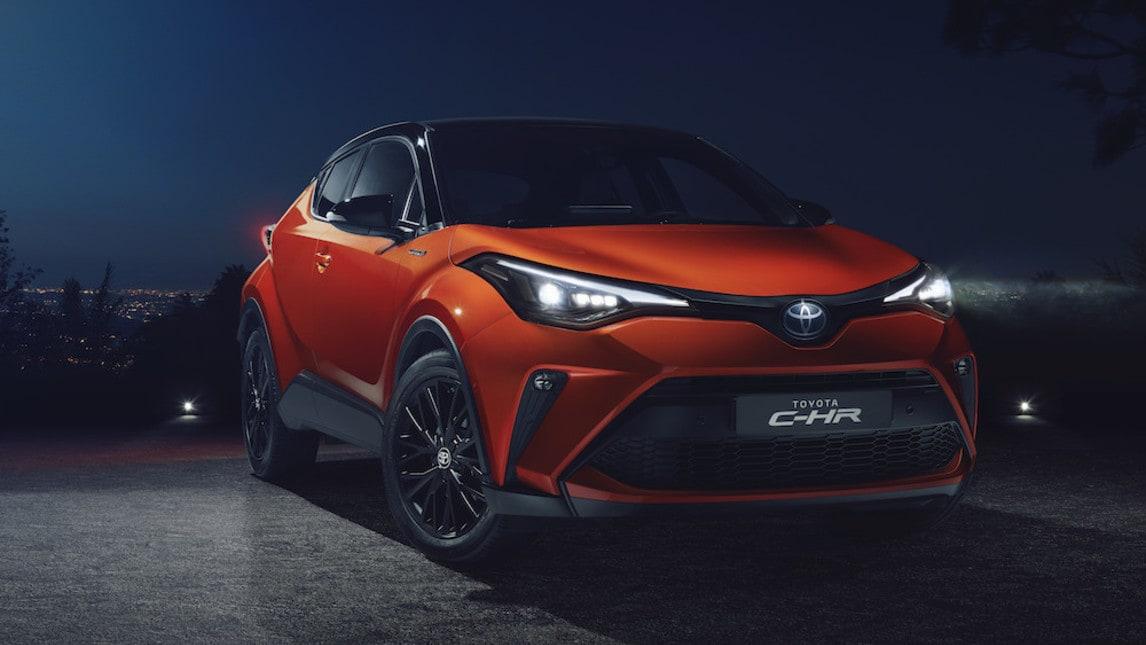 Toyota CH-R 2020, le immagini
