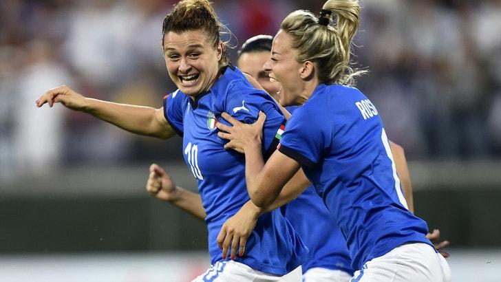 Malta-Italia 0-2: sei juventine in campo, segna Girelli