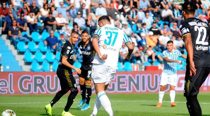 Spal-Parma 1-0, decide Petagna