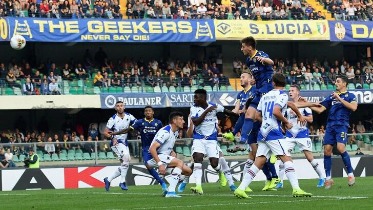 Verona-Sampdoria 2-0, Di Francesco a un passo dall'esonero