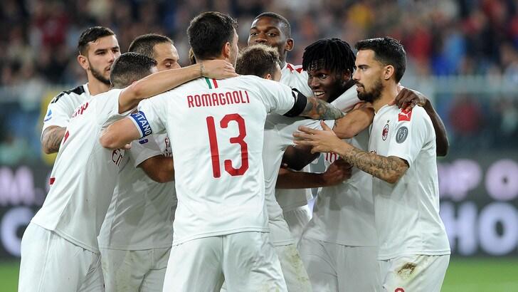 Il Milan ritrova il sorriso: 2-1 sul campo del Genoa, Reina salva Giampaolo