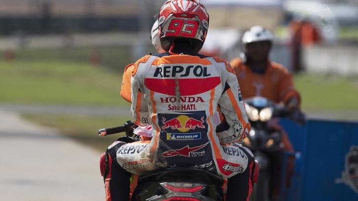 Gp Thailandia, Warm Up: Marquez è il più veloce
