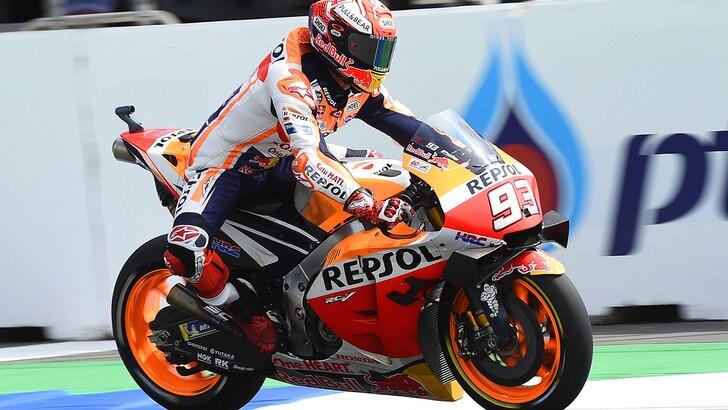 Gp Thailandia, Marquez mondiale: