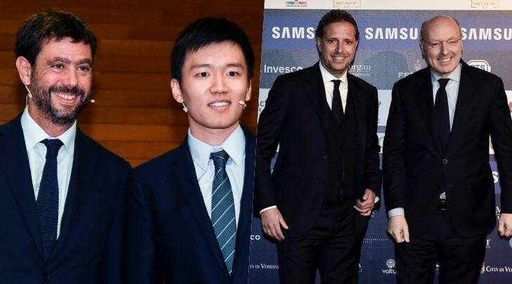 Inter-Juve, Suning contro Exor: un duello da 175 miliardi