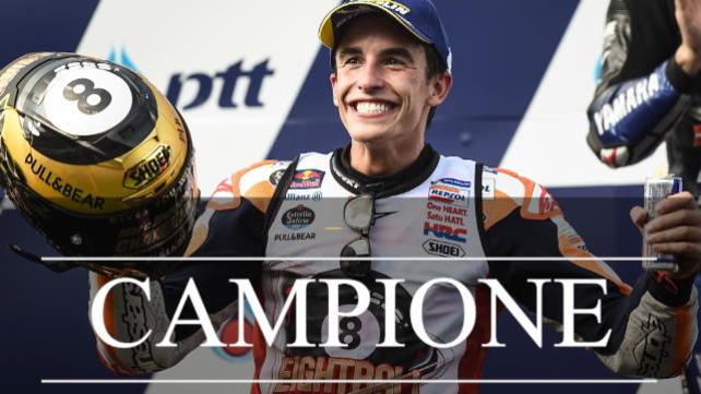 Ottavo titolo, Marquez a un passo da Rossi