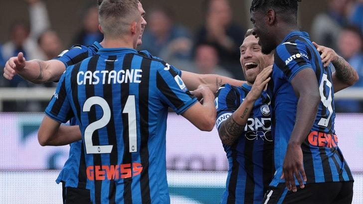 L'Atalanta vola, pareggi per Roma e Lazio con Cagliari e Bologna
