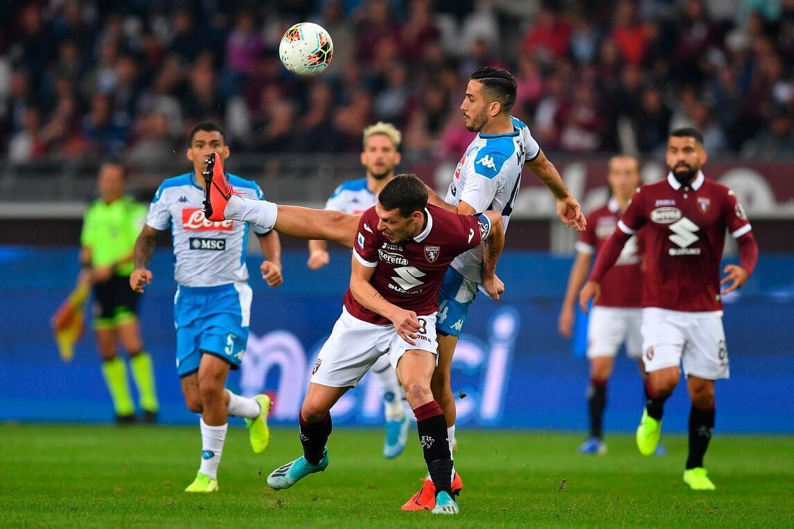 Il Torino spaventa il Napoli, ma è 0-0